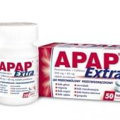 Apap Extra, 50 tabletek