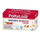 Magnez Skurcze + Potas, 40 tabletek