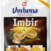 VERBENA, cukierki, imbir z witaminą C, 60g