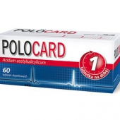 Polocard, 150mg, 60 tabletek