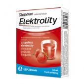 Elektrolity, smak truskawkowy, 5 saszetek
