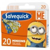 Salvequick Minionki, plastry, 20 sztuk