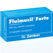 Fluimucil Forte 600mg, 10 tabletek musujących