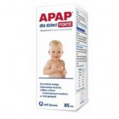 APAP dla dzieci Forte zawiesina doustna, 85ml