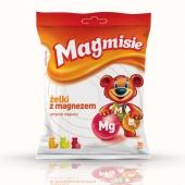 Magmisie Żelki z magnezem, 30 sztuk (135g)