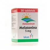 Melatonina 5mg, 30 tabletek