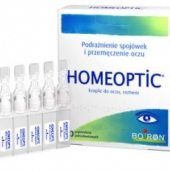 Homeoptic, krople do oczu, 10 minimsów po 0,4ml