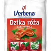 VERBENA, cukierki, dzika róża z witaminą C, 60g