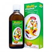 Multivitamol 1+, syrop witaminowy z żelazem dla dzieci, 500ml