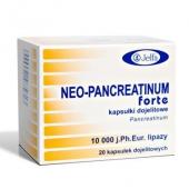 Neo-Pancreatinum Forte, 20 kapsułek
