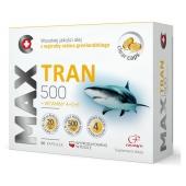 MAX Tran 500, 60 kapsułek + Vitaminum C200 Colfarm, 30 tabletek