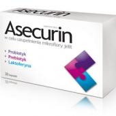 Asecurin, 20 kapsułek