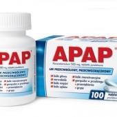 Apap, 100 tabletek