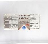 Magnezu siarczan (sól gorzka), 50g