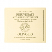 Olivolio, oliwkowy krem przeciwzmarszczkowy pod oczy z kwasem hialuronowym, 30ml