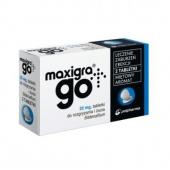 Maxigra Go 25mg, 2 tabletki do rozgryzania i żucia