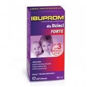 Ibuprom dla dzieci Forte, zawiesina doustna, 100ml