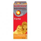 Nurofen dla dzieci Forte, zawiesina, smak pomarańczowy, 150ml