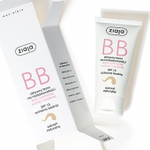 ZIAJA BB, aktywny krem na niedoskonałości, skóra normalna, sucha i wrażliwa, odcień naturalny, 50ml