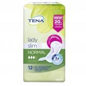 TENA Lady Slim Normal, 12 wkładek anatomicznych