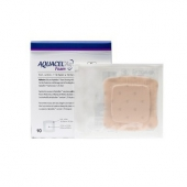 AQUACEL Ag Foam, piankowy opatrunek antybakteryjny, 10x10cm, 1 sztuka