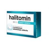Halitomin, 30 tabletek do ssania