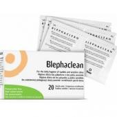 Blephaclean, chusteczki hypoalergiczne do higieny powiek, 20 sztuk
