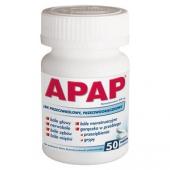 Apap, 50 tabletek