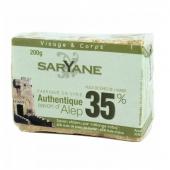 Saryane, mydło z Aleppo 35%, 200g