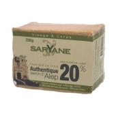 Saryane, mydło z Aleppo 20%, 200g
