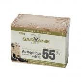 Saryane, mydło z Aleppo 55%, 200g
