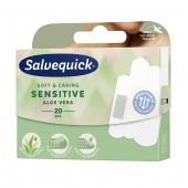 Salvequick Sensitive Aloe Vera, 20 plastrów