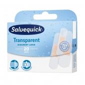 Salvequick, Transparent, 20 plastrów