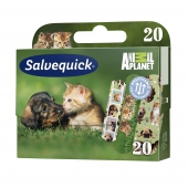 Salvequick, Animal Planet, 20 plastrów