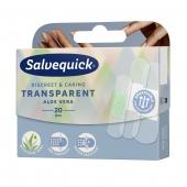 Salvequick, Transparent Aloe Vera, 20 plastrów