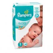 Pampers Pro Care 1, 38 sztuk