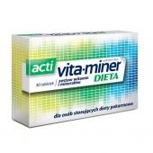 Acti Vita-miner Dieta, 30 tabletek