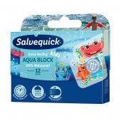Salvequick, Aqua Block Kids, 12 plastrów