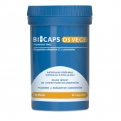 BICAPS D3 VEGE, 60 kapsułek
