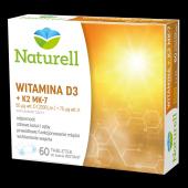NATURELL Witamina D3 + K2 MK-7 tabl.dossan