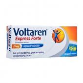 Voltaren Express Forte 25mg, 20 kapsułek