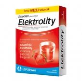 Elektrolity, smak truskawkowy, 7 saszetek