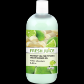Fresh Juice Kremowy żel pod prysznic White chocolate & Lime