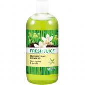 Fresh Juice, Żel pod prysznic `Lemongrass & Vanilla`