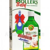 Moller's Baby+ Tran Norweski Cytrynowy + s