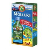 Moller's Tran Norweski owocowy + piórnik p