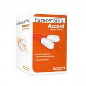Paracetamol Accord 500mg, 50 tabletek