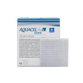 AQUACEL Ag + Extra, opatrunek hydrowłóknisty 15x15cm, 1 sztuka