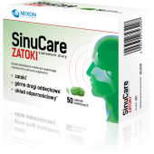 SinuCare ZATOKI, 50 tabletek