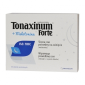 Tonaxinum Forte + melatonina, 60 tabletek